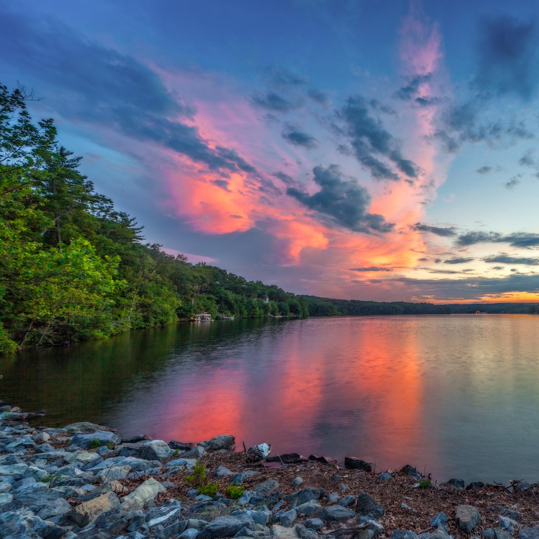 Lake-Holiday-Sunset-Erik Michael Zimmerman