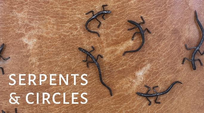 Art in the Halls: Serpents & Circles