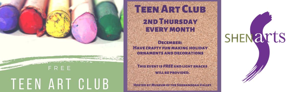 Teen Art Club