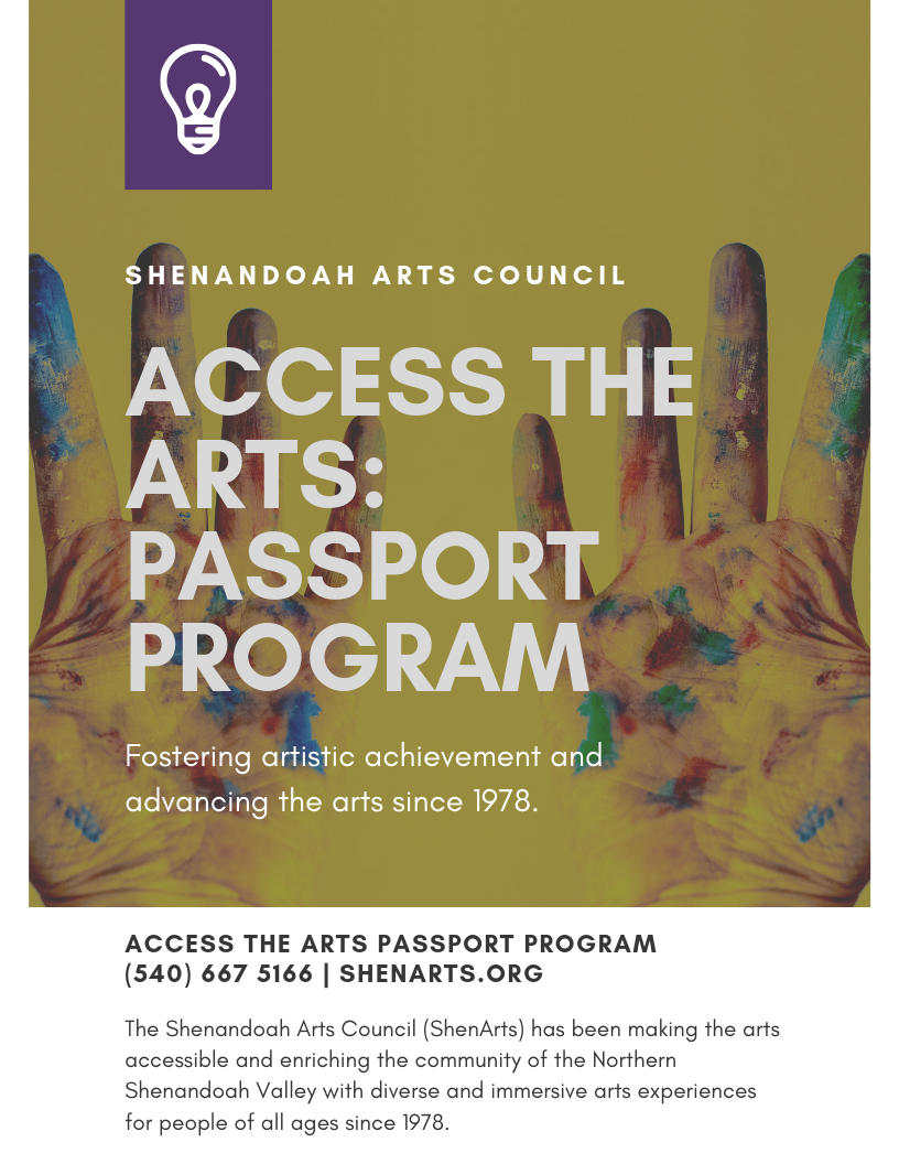 Access the Arts Passport Program