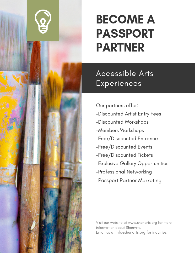 Access the Arts: Passport Program