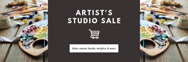 Artist Studio Sale