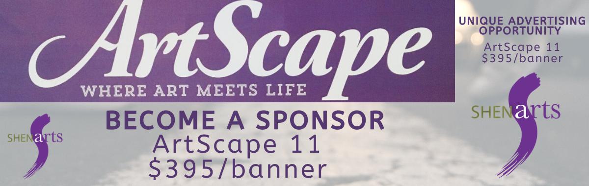 Sponsor ArtScape 11!