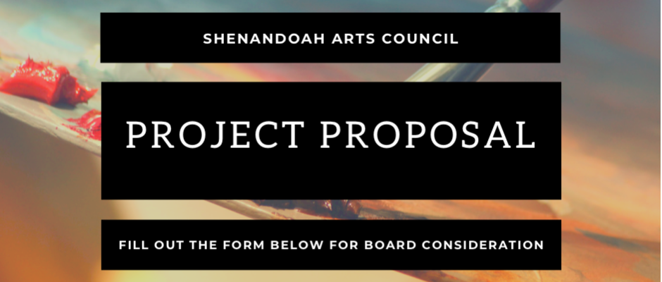 ShenArts Project Proposal Online Form