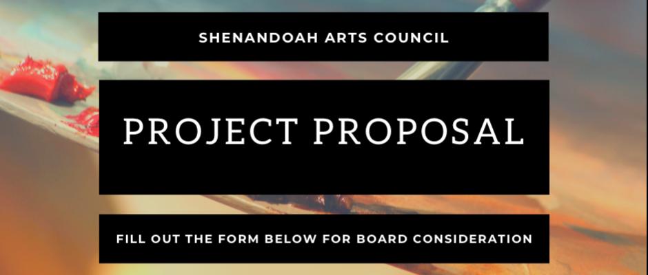ShenArts Project Proposal Online Form