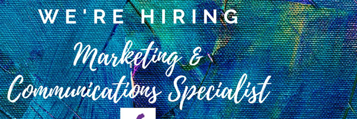 ShenArts Seeks Marketing & Communications Specialist