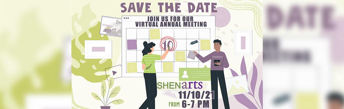 ShenArts Annual Meeting 2021